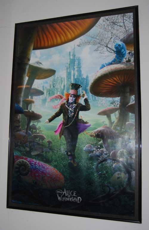Johnny depp alice in wonderland poster