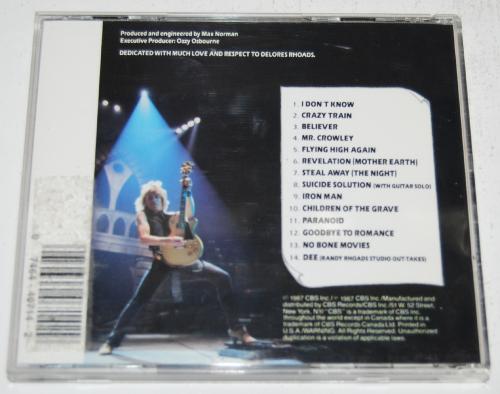 Ozzy cds 2 x