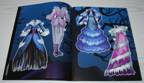 Ghoulish girls paperdolls 2