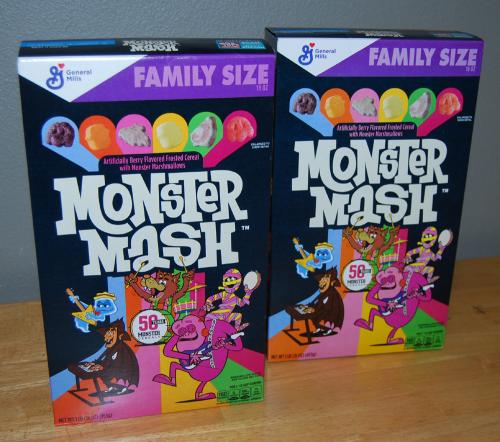 Monster mash cereal