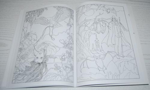 Dover vampires coloring book 6