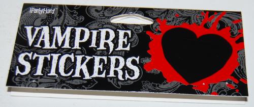 Vampire stickers