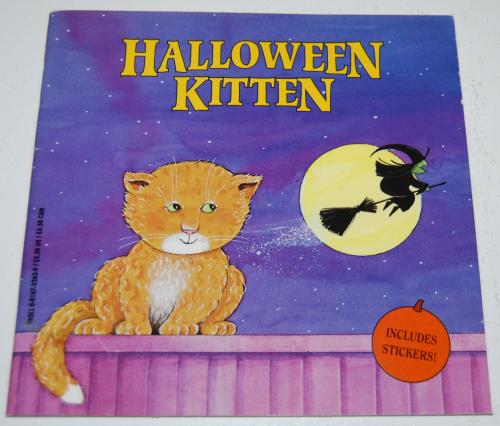 Halloween kitten book
