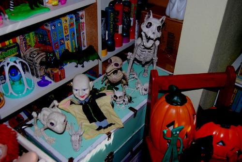 Halloween toyroom 2021