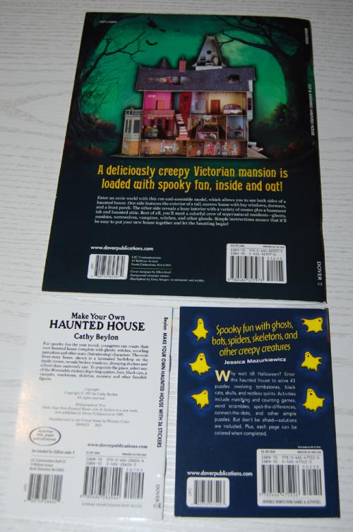Halloween books dover x