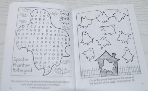 Halloween mini activity book dover 6