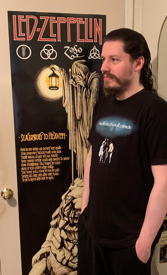 raven doors t-shirt