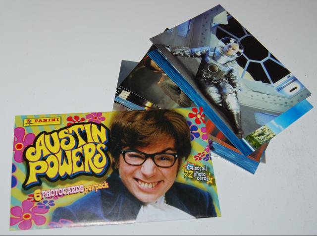 austin powers photo cards