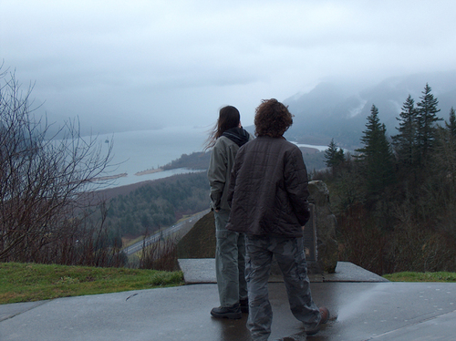 crown point on the columbia river gorge...