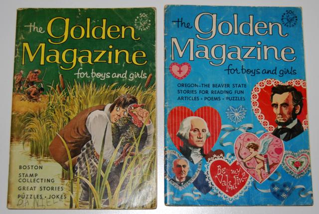 golden magazine