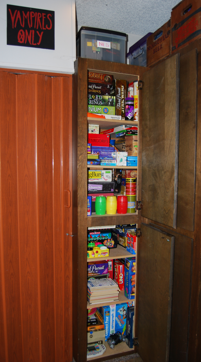 the game cupboards