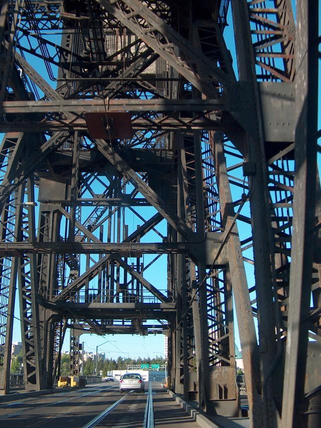 the old steel bridge..
