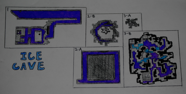 early rpg maps ~ ice cave