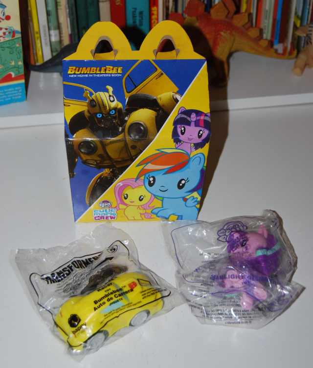 my little pony/bumblebee