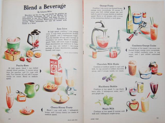 blend a beverage