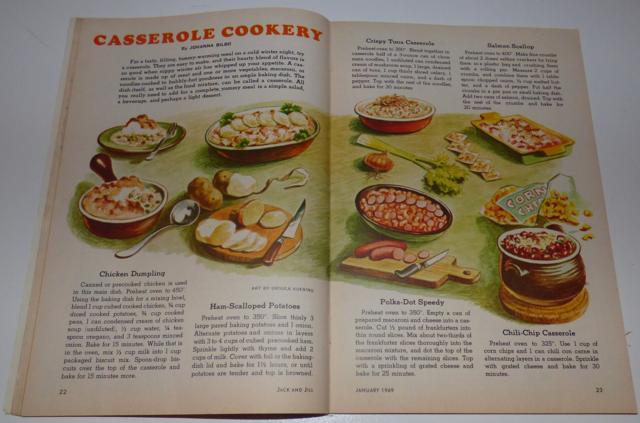casserole cookery