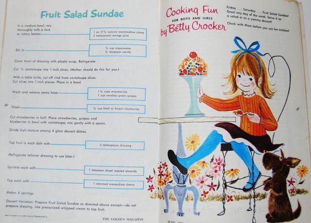 fruit salad sundae