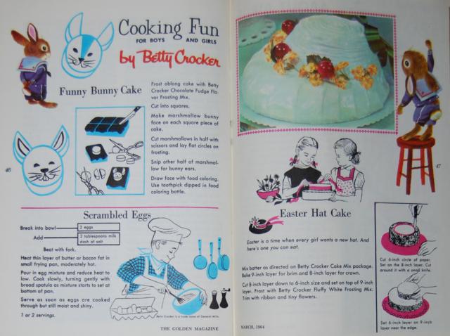 funny bunny cake