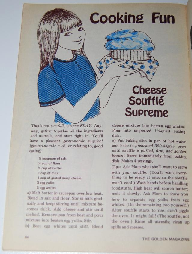 cheese souffle supreme