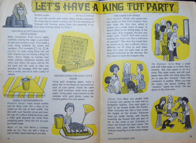 king tut party