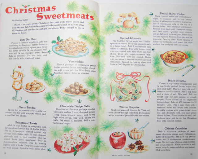 christmas sweetmeats
